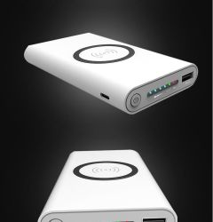 لجهاز الشحن اللاسلكي Samsung Qi Charger Pad 800 ميلي أمبير في الساعة