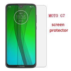 Commerce de gros 9h 2.5D 0.33mm verre trempé ultra clair la gamme Protection Ecran pour Motorola G7/G7+/G7/G7 Power Play