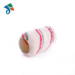 """4 """" grigi e coperta di tela acrilica della doppia della banda di formato di vernice ricarica rossa del rullo"""