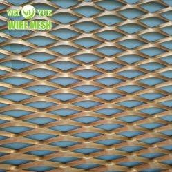 RAL 컬러 코팅 다이아몬드 메쉬 확장형 금속 공급업체