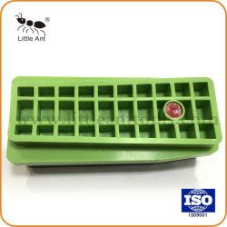 O Plástico Verde Almofada de polir de bloco de polimento de volta para o granito /em mármore/Pedras