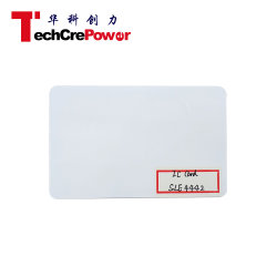 Toegangscontrole PVC-smartcard Sle4442 IC-contactkaart