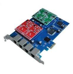에스테리스크 카드 Aex410p 4 포트 에스테리스크 PCI-E 카드