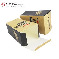 De kleurrijke Composteerbare Vakjes van het Document van de Popcorn Verpakkende voor de Verpakking van het Voedsel