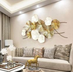 Arte della parete del metallo per la decorazione dell'interno del salone e della casa
