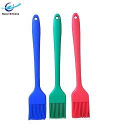 A FDA LFGB personalizadas de Silicone coloridas bicarbonato de Escova de óleo para utensílios de cozinha
