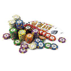 Casino Argila Personalizada de Fábrica Prémio grossista Poker chip sets