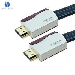Het nieuwe Shell HDMI van de Legering van het Zink van de Premie Mannetje van de Kabel aan Mannelijke Kabel voor HD TV, DVD
