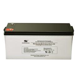 12V 200ahのゲル電池の深いサイクルの太陽ゲル電池の再充電可能な手入れ不要