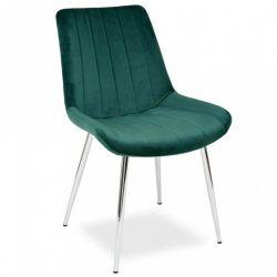Домашняя кухня ресторана Мебель мягкая красочные бархата обеденный стул с хромированными ног в банкетный зал