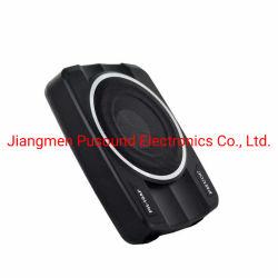 Carro fina de alumínio Car Audio Sub Woofer 10 polegada Underseat Amplificador de potência sonora
