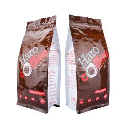 Het in het groot Verpakkende Embleem van de Douane drukte Resealable Zak van de Koffie van de Ritssluiting af