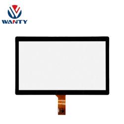 Monitor touchscreen USB G+G PCAP da 15.6 pollici con personalizzazione di fabbrica per la Cina Schermo a sfioramento proiettato del pannello del display LCD TFT