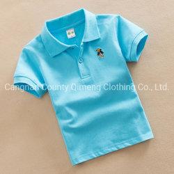 Venda a superior qualidade Super camisas polo para crianças com tamanho diferente
