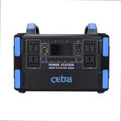 OEM 100 W 200 W 300 W 500 W 1000 W alimentatore solare portatile per esterni Centrale elettrica per campeggio