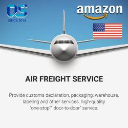 Envío rápido DDP entrega puerta a puerta almacén a almacén de servicio de flete aéreo de China a EE.UU Transitario Amazon Fba
