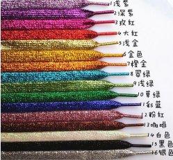 Glitter dentelle de chaussures/Shoelace dans Glitter couleur