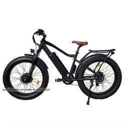 Bicicletta elettrica da 26 pollici per 2 persone a lungo raggio Cina di alta qualità Bici elettrica da montagna con pneumatici FAT da 1000 W e 48 V per motore doppio per Adulto