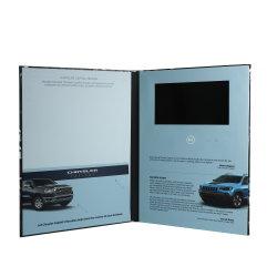 Neueste LCD-Bildschirm-Video-Visitenkarte