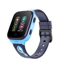2021 4G مكالمة فيديو جهاز تعقب GPS هواتف Android المحمولة ساعة ساعة الأطفال الذكية