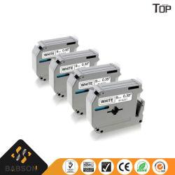 형제 인쇄 기계 리본 카트리지 사무용품 토너 카트리지 레이블 리본 Mk 시리즈 또는 표준 입히는 창백한 광택이 없거나 서리로 덥은 레이블 리본