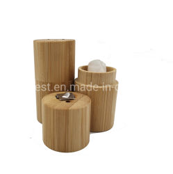Eco-Friendly Fio Dental com tubo de bambu