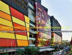 إطار هيكل معدني تجاري مصنع مسبقًا للمصابيح المعيارية فندق مستشفى إناء مبنى بناء شقق ورشة العمل