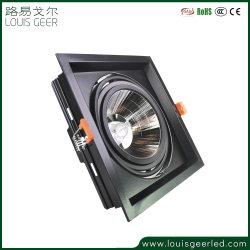 Ce bas prix RoHS feux à LED à gradation étroit faisceau rotatif 12W COB Spot de plafond encastré dans le voyant DEL de Spotlight