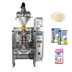 DJ - 3b250 1kg 전자동 수직 분유/밀가루/ 향신료/단백질/세척용 분말/베개 백 포장재 충전 밀봉 기계