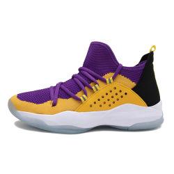De Schoenen van mannen en van Vrouwen vormen de In te ademen hoog-Hoogste Tennisschoenen van het Basketbal