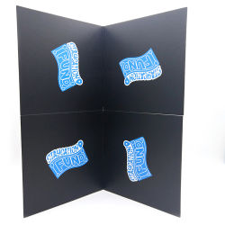 Carte de jeu de l'emballage personnalisé Jeu de plateau de jeu pour enfants