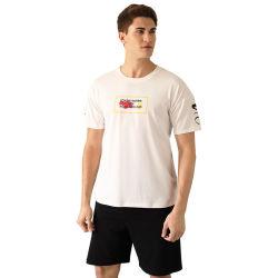 Pyjama les hommes d'été de coton à manches courtes Pull décontracté Accueil Vêtements sports lâche de grande taille de la mode combinaison peut être portée à l'extérieur