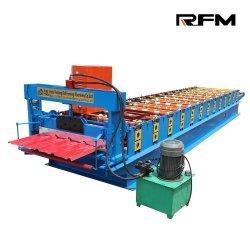 Tôle de couverture couleur de moulage panneau mural en acier formation de rouleau Machine froide