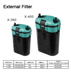 Аквариум рыбы бак внешний фильтр снаружи фильтра предварительной очистки топлива мини-фильтр