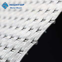 Архитектурные соткана из нержавеющей стали металлический сетчатый материал для настенных покрытий