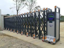 Alumínio Industrial Ligas de carro automático das portas do sistema de abertura