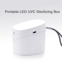 Compatto UV dello sterilizzatore di disinfezione dell'indicatore luminoso di piccola disinfezione UV portatile di plastica degli elementi