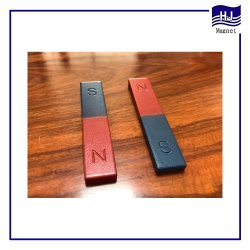 Magnete d'istruzione del ferrito del blocchetto a ferro di cavallo quadrato magnetico permanente di figura