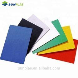 Nouveau produit de gros feuille acrylique TPU couleur double feuille de plastique ABS