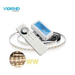 2.4G de zona 3 Solo Color LED RF Controlador remoto para la TIRA DE LEDS
