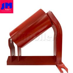Creux en acier du tendeur de courroie du galet porteur de jeu de groupe Rouleau du convoyeur