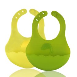Baby Bib in silicone per bambini e bambini