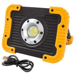 LED-Arbeits-Licht, nachladbarer LED-Scheinwerfer, bewegliche wasserdichte LED Flut-Lichter LED-für die im Freien kampierende wandernde Emergency Auto-Reparatur und Job-Site-Beleuchtung