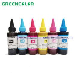 Epson용 100ml 디지털 고열 전달 승화 리필 잉크 티셔츠 폴리에스테르 인쇄용 프린터