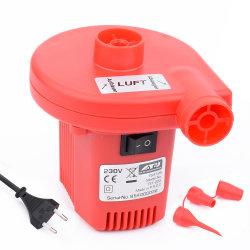 مضخة هواء كهربائية صغيرة محمولة صغيرة محمولة تعمل بالمصنع بقدرة تيار متردد تبلغ 230 فولت/110 فولت بقدرة 170 وات من أجل قابلة للانتفاخ