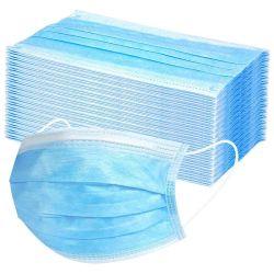 Ce gros FDA 3 épaisseurs de tissu non tissé avec filtre anti-poussière face protecteur Masque jetable