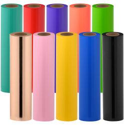 لون لامع/غير لامع قص تغيير غشاء فينيل لاصق ذاتي قابل للطباعة من مادة PVC اللف للإعلان عن ملصق السيارة