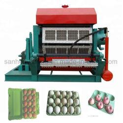 卵の皿または卵のカートンの/Eggボックスを作るリサイクルされたペーパーパルプの成形機