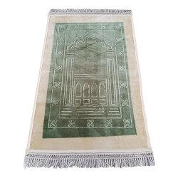 양탄자 주문 ODM 접이식 터키 이슬람 플레인 패딩 프레이어 매트 카펫