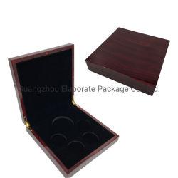 Personalizada de Fábrica Acabamento Fosco Square Cerejeira apresentação tipo moeda na caixa de exibição